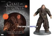 Game Of Thrones Official Collector's Models Special #1 Mag The Mighty Figurine & Magazine Eaglemoss